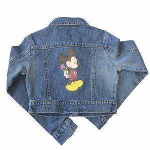 Wonderful World Of Disney Mickey Jean Jacket